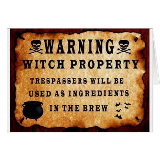 Witch Property Card