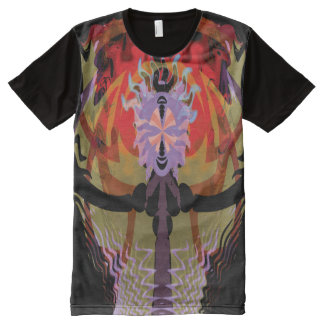 witch psy All-Over print T-Shirt