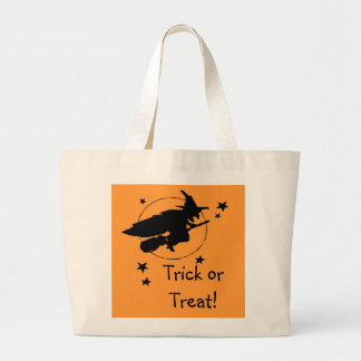 Witch Trick Or Treat Halloween Candy Bag