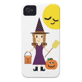 Witch Trick or Treating iPhone 4 iPhone 4 Cases