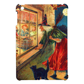 Witch Watching Children Owl Black Cat Cover For The iPad Mini