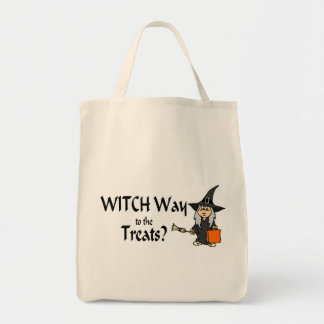 Witch Way To The Treats (Halloween) Bag