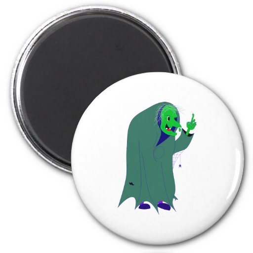 Witch witch refrigerator magnet