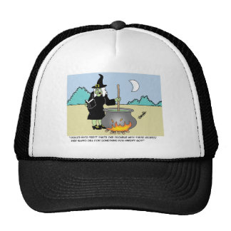 Witch With A Recipe Book Trucker Hats