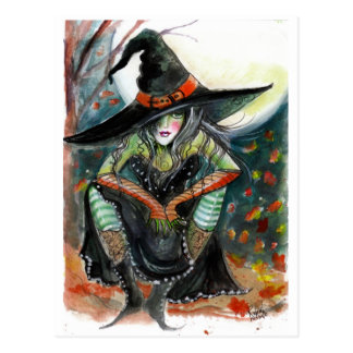 Witch with an Attitude Postcard