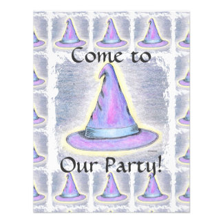 Witch Wizard Pagan Hat Children s Party Personalized Invite