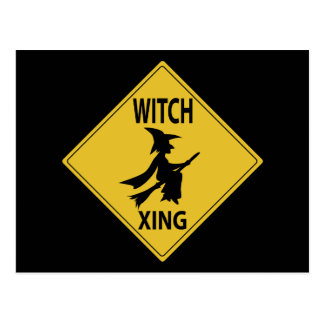 Witch Xing Postcard