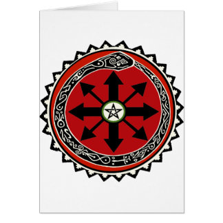 Witchcraft Symbol for Chaos Card