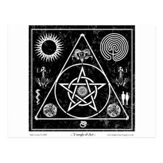 Witchcraft: The Triangle of Art Postcard