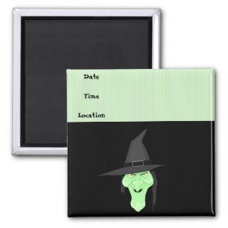 Witches and Brooms Refrigerator Magnets