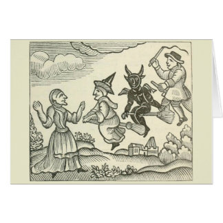Witches and others note cared with quote card