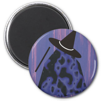 Witches and Wizards 6 Cm Round Magnet
