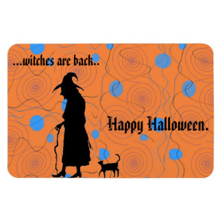 Witches are Back rectangular magnet Magnets