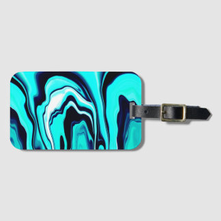 """""""Witches ball Abstract"""" luggage tag"""
