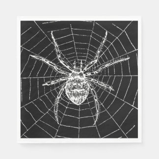 Witches Ball Spider Napkins Paper Napkin
