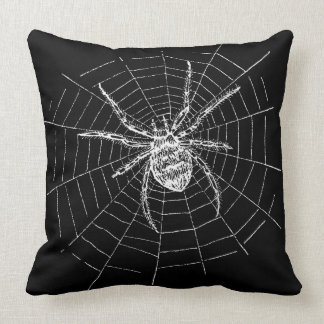 Witches Ball Spider Pillow