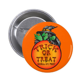 Witches Ball - Trick or Treat Ball Button
