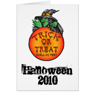 Witches Ball - Trick or Treat Ball Greeting Card