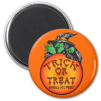 Witches Ball - Trick or Treat Ball Fridge Magnets