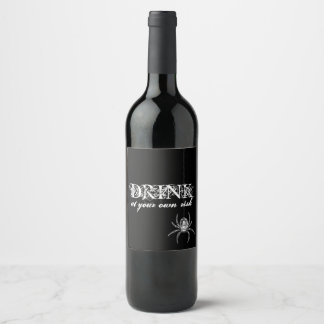 Witches Ball Wine Label