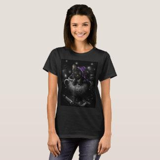 Witches Black Kitten T-Shirt