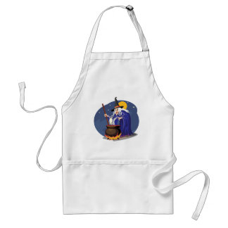 Witches Brew Halloween Standard Apron