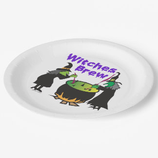 Witches Brew Paper Plate