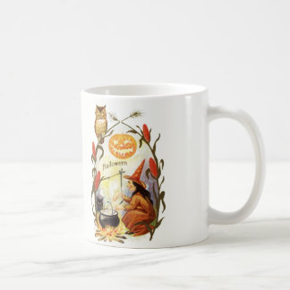 Witches Brew Vintage Halloween Mugs