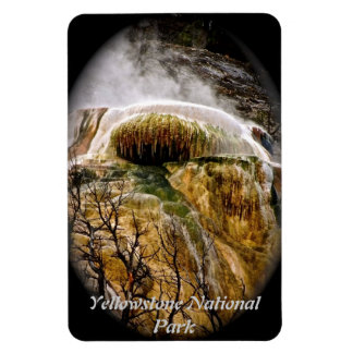 WITCHES CAULDRON IN YELLOWSTONE RECTANGLE MAGNETS