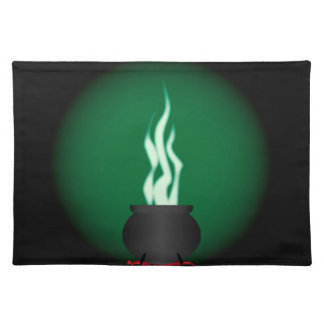 Witches Cauldron Poster Background Placemat