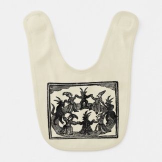 Witches Circle Dance Baby Bibs