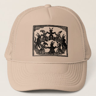 Witches Circle Dance Trucker Hat