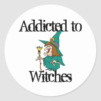 Witches Classic Round Sticker