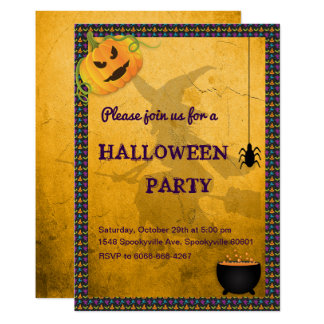 Witches Den Halloween Card