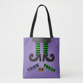 Witches Free Trick Or Treat Bag Tote Bag