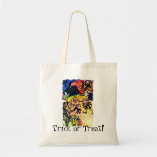 Witches Ghouls Canvas Bags