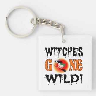Witches Gone Wild Key Ring