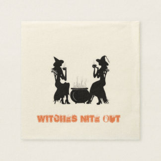 Witches Nite Out Disposable Serviette