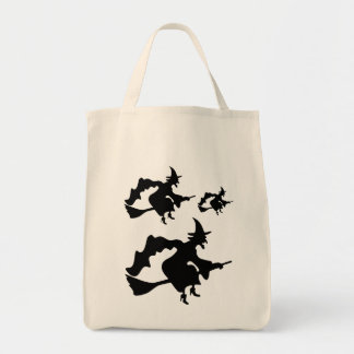 Witches' Party Ghouls Night Out Grocery Tote Bag