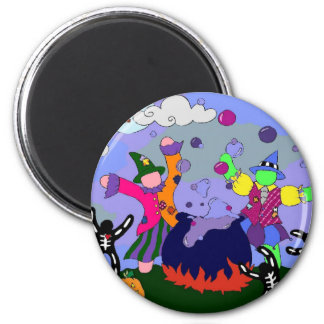 Witches Party Magnet