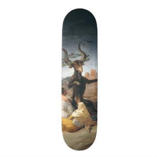 Witches Sabbath - Francisco de Goya (1797-1798) Skateboards