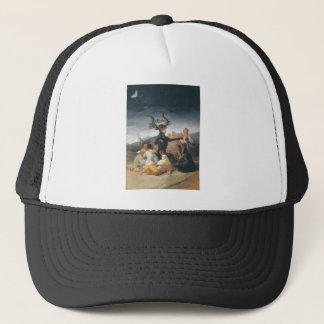 Witches Sabbath - Francisco de Goya (1797-1798) Trucker Hat