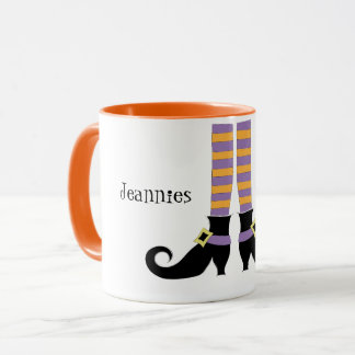 Witches Shoes Mug