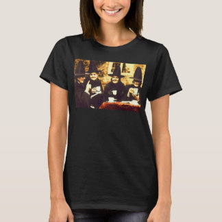 Witches Tea party - colored T-Shirt