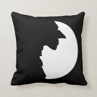 Witches Yin Yang Throw Pillow