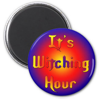 Witching-Hour Refrigerator Magnets