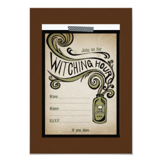Witching Hour Party Invite