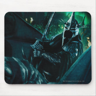 Witchking with sword mouse pad