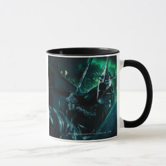 Witchking with sword mug