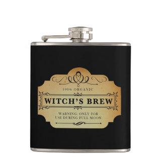 Witch's Brew Hip Flask